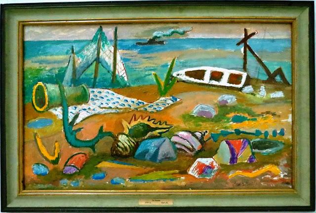 Роман Сельский, На берегу, 1978