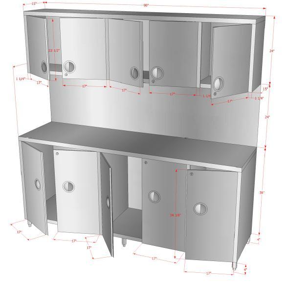 Steel doorse stainless steel cabinet doors for Stainless steel kitchen cabinet doors