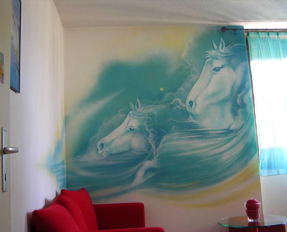Deco chambre cheval for Decoration licorne chambre