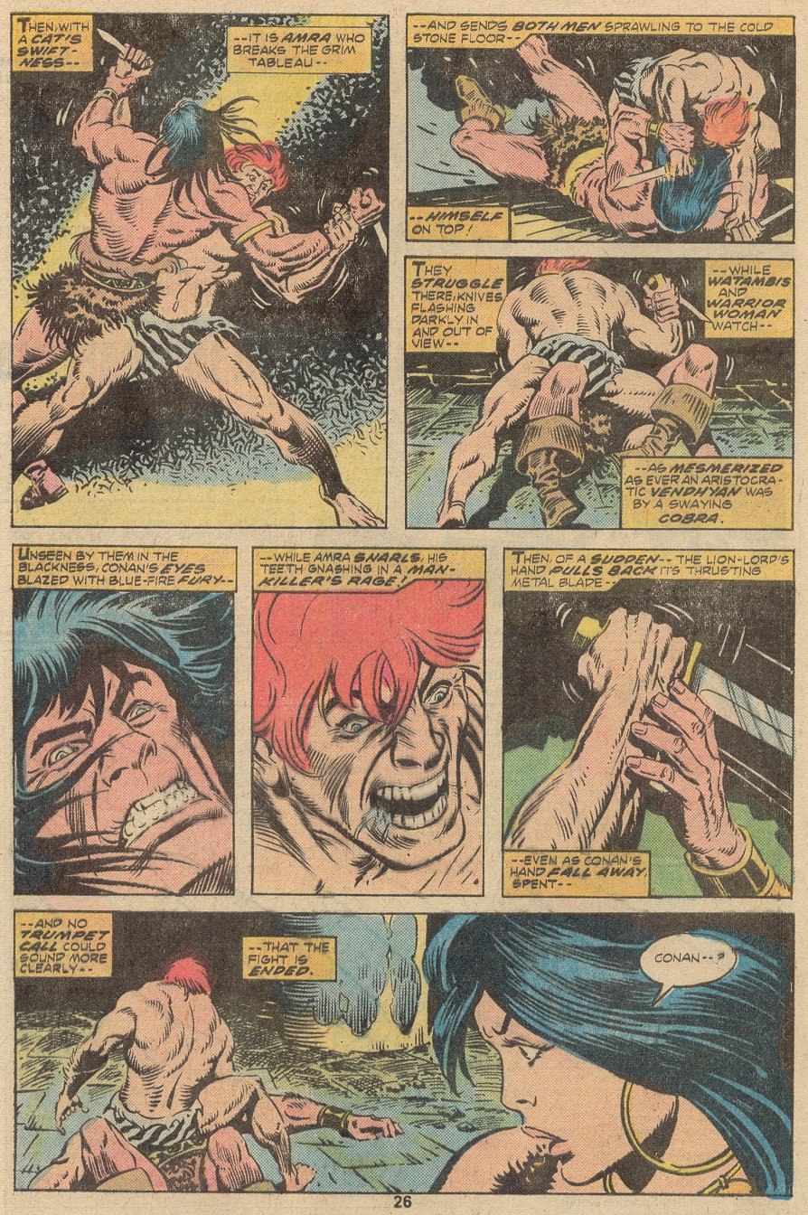 Conan the Barbarian (1970) Issue #63 #75 - English 17