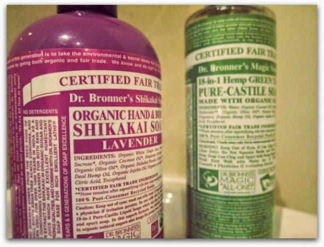 Dr Bronner's Lavender Shikaki Soap