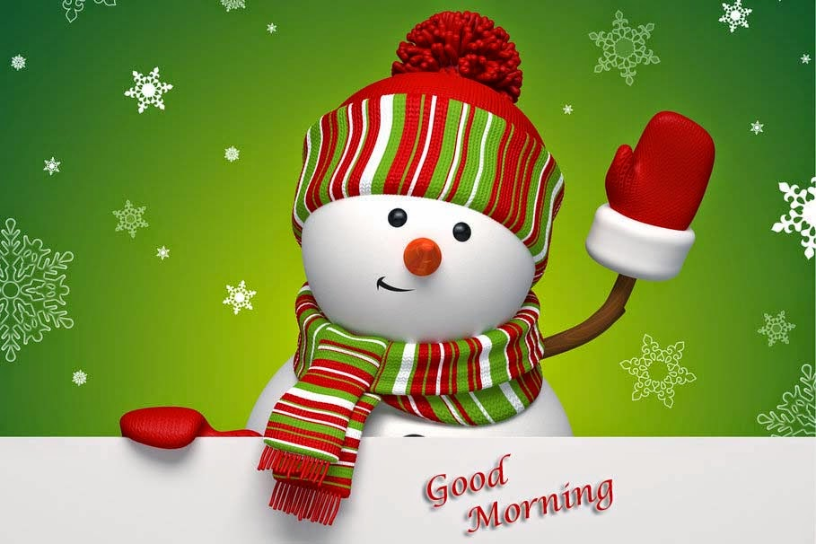 winter-snowman-green-hd