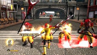 Power Rangers: Super Samurai Gameplay Screenshots Videogame Gamescom