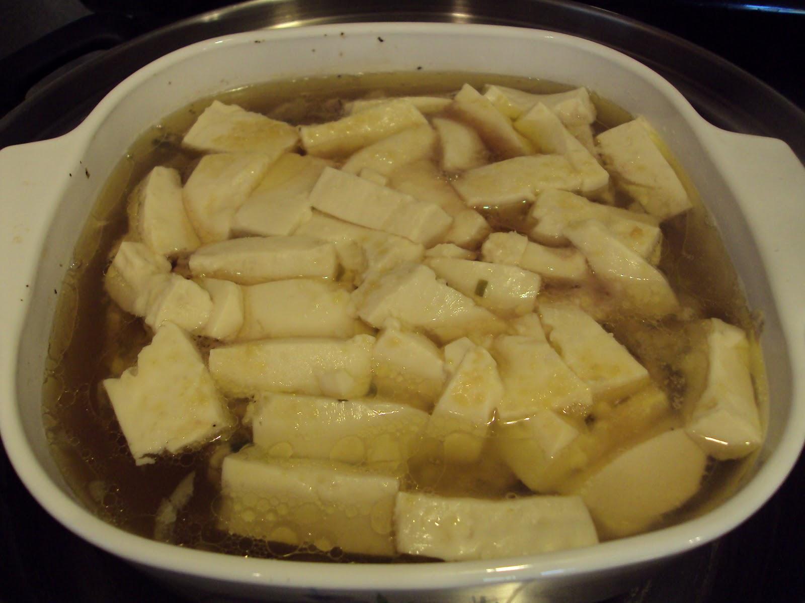 Steamed Tofu With Ground Pork Recipe — Dishmaps