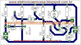 Transmissor FM portatil