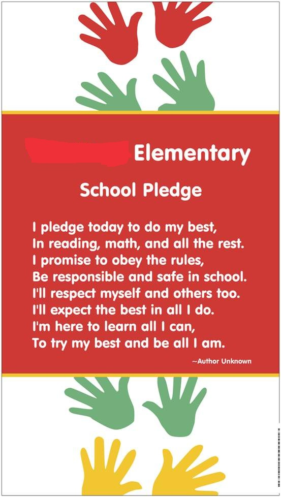 Classroom Pledge Ideas ~ Made it monday vista print to the rescue teaching in