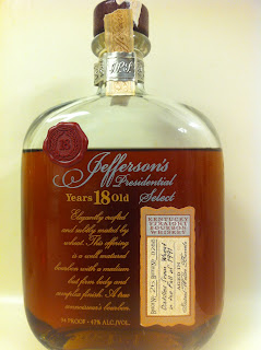 Jefferson's Presidential Select 18 Year Bourbon