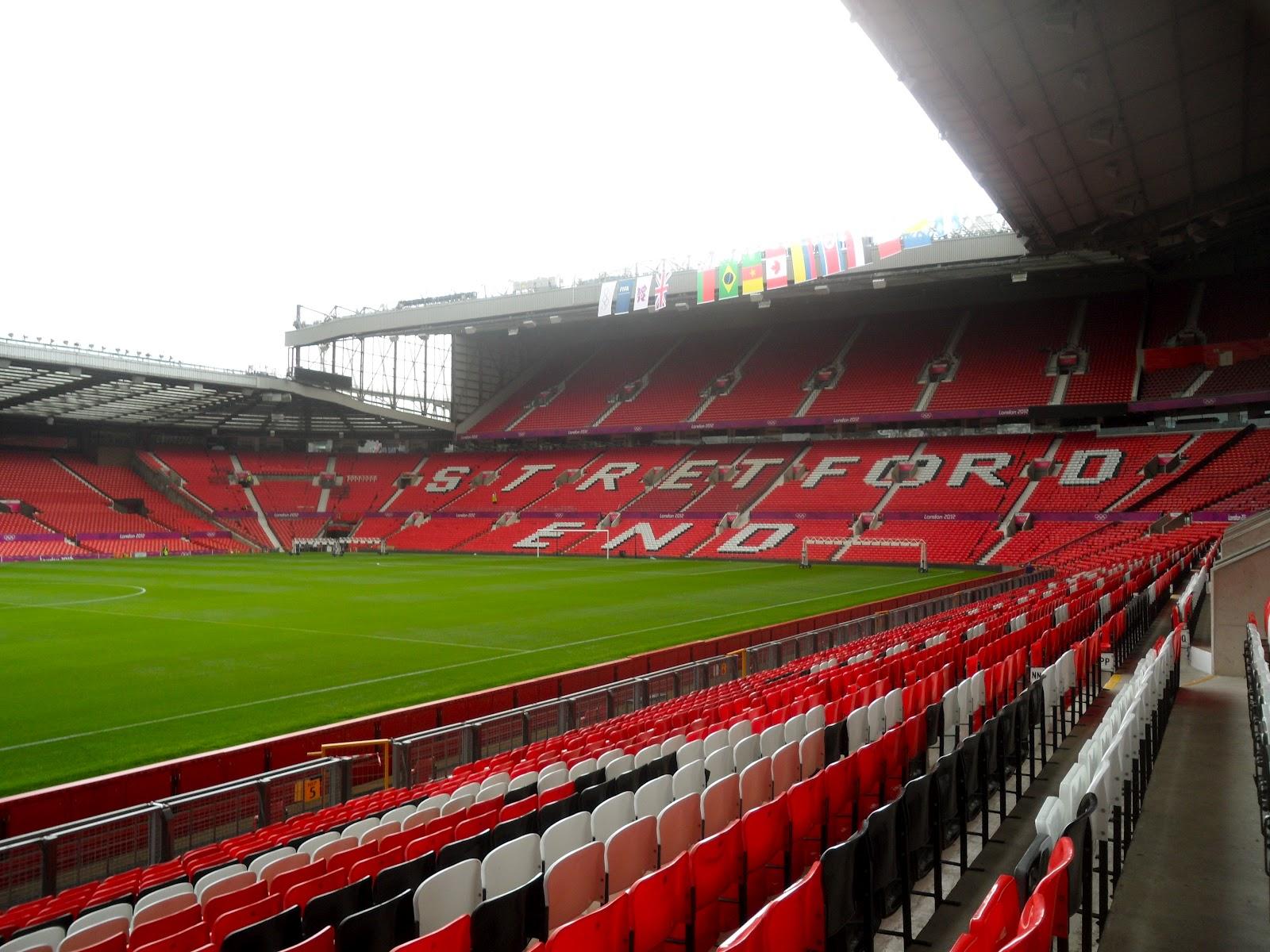 Logan Studies UK Sports: Manchester United Stadium Tour