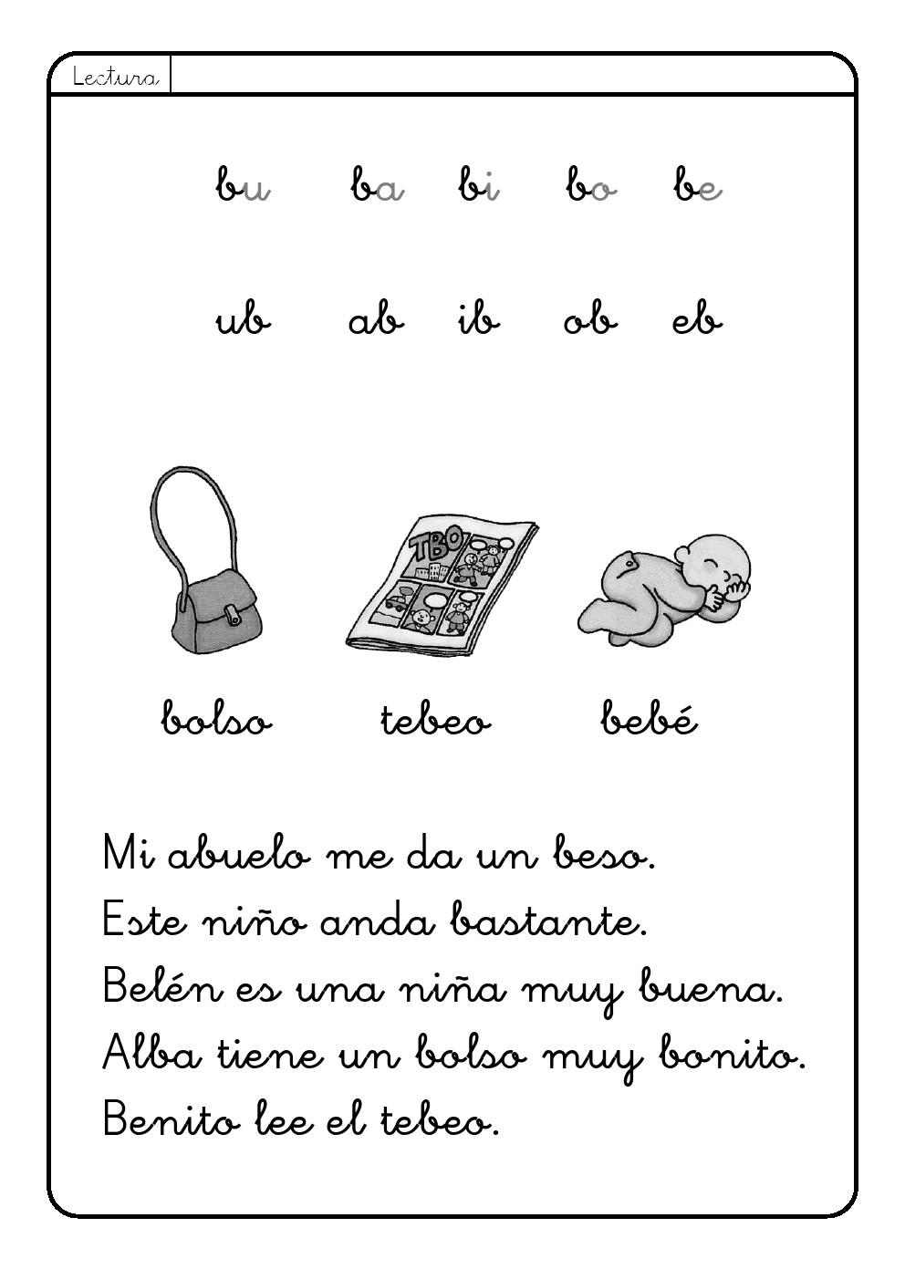 La letra B | b ~ La Eduteca