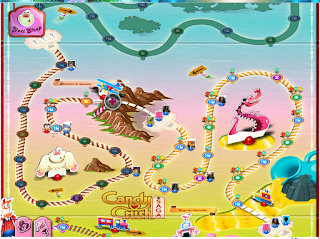 Candy Crush Tablero