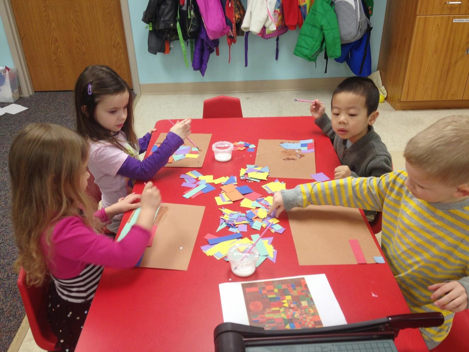 Mrs Helmkamp S Preschool Paul Klee Castles