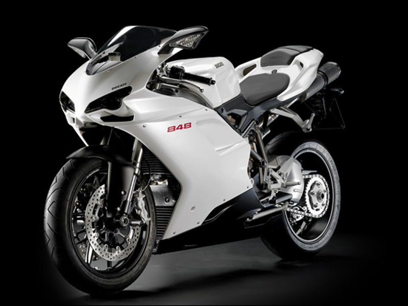 motorcycle news: 2011 Ducati 848 Evo Motorcycle Video Review