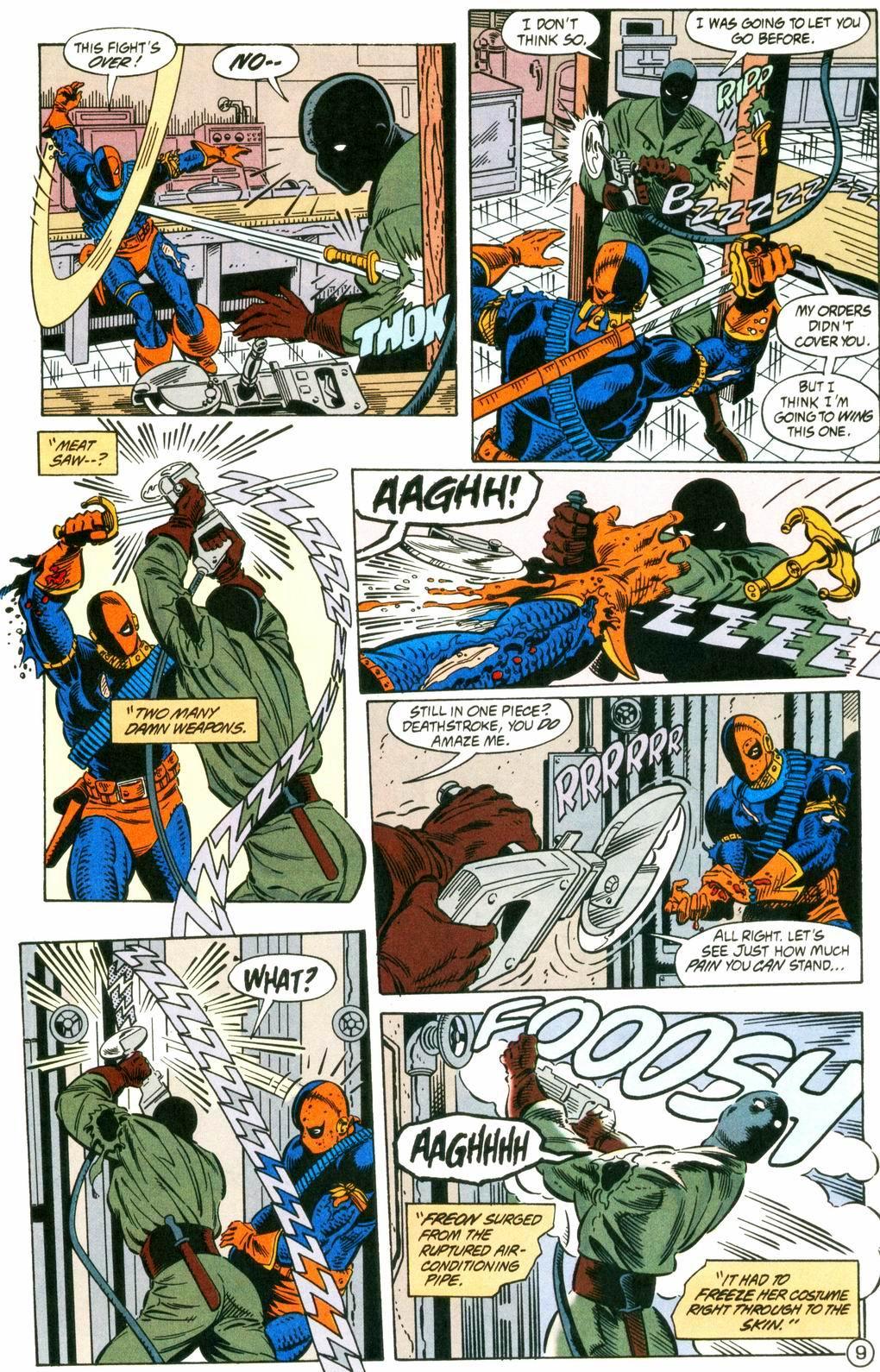 Deathstroke (1991) Issue #8 #13 - English 9