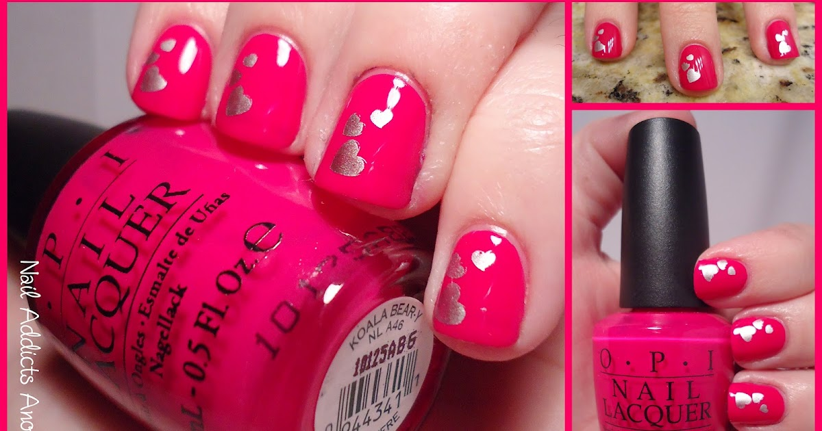 Nail Addicts Anonymous: Happy Valentine\'s Day