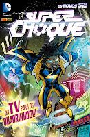 Capa da história em quadrinhos Superchoque, lançada em 2012 pela Panini Comics