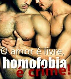 Homofobia Não!