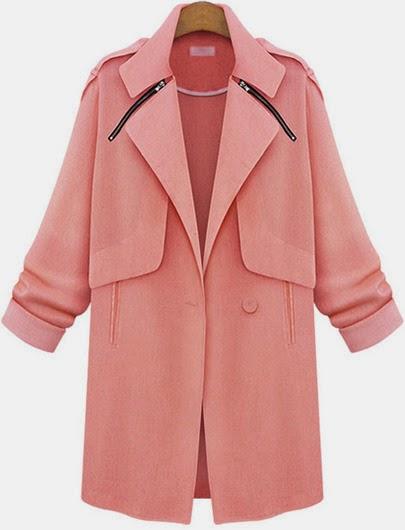 http://fr.sheinside.com/Pink-Lapel-Long-Sleeve-Zipper-Pockets-Coat-p-184436-cat-1735.html