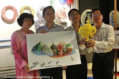 Pemenang Malaysia's Doodle 4 Google