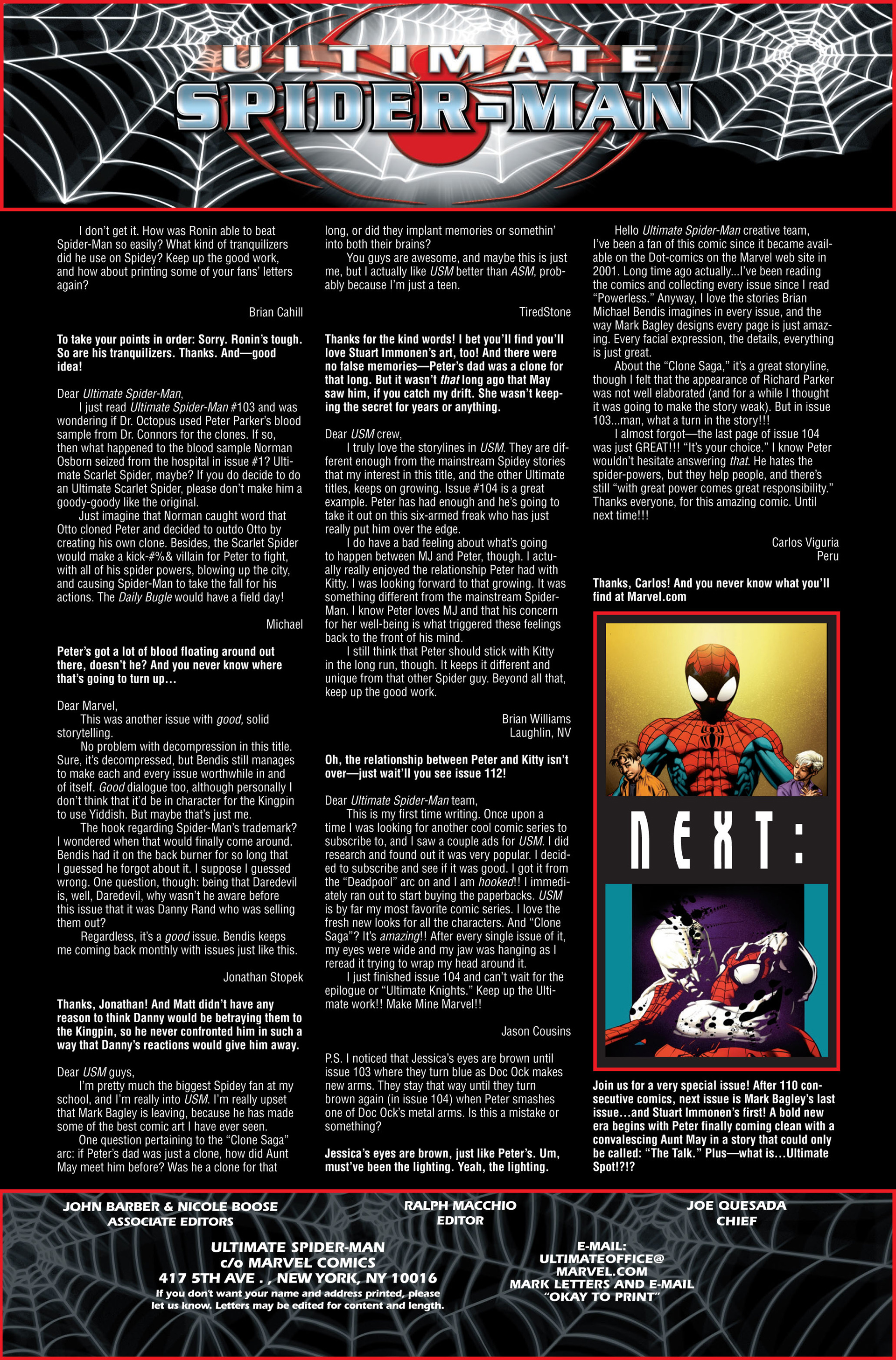Ultimate Spider-Man (2000) Issue #110 #114 - English 22