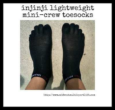 injinji Lightweight Mini-Crew Toesocks