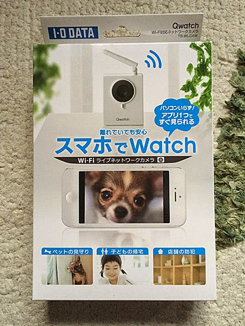 スマホでWatch「Qwatch」TS-WLCAM