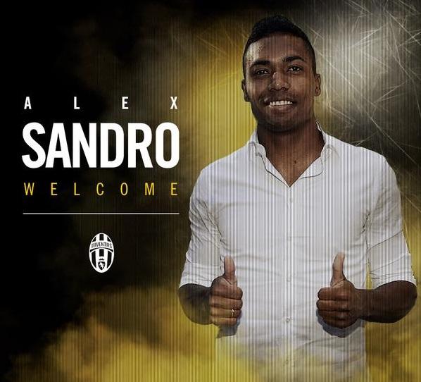 Juventus Remi Kontrak Alex Sandro Lima Tahun