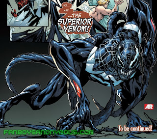 Find out who the Superior Venom is in Superior Spider-Man #23, available on Comixology and the Marvel Comics app