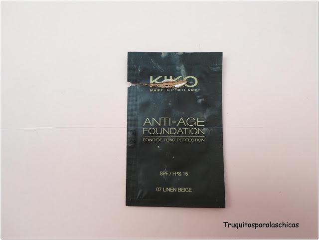 Anti - age foundation de kiko