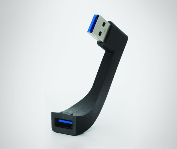 Jimi is a J shaped USB extension for your iMac 1