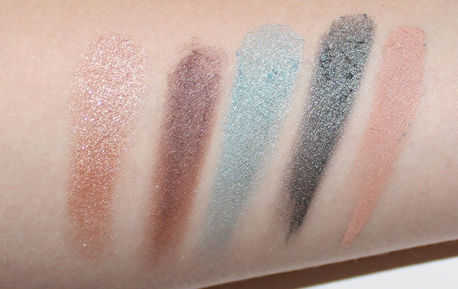 Mary Kay Midnight Jewels Eye Color Palette Emerald Noir Swatches
