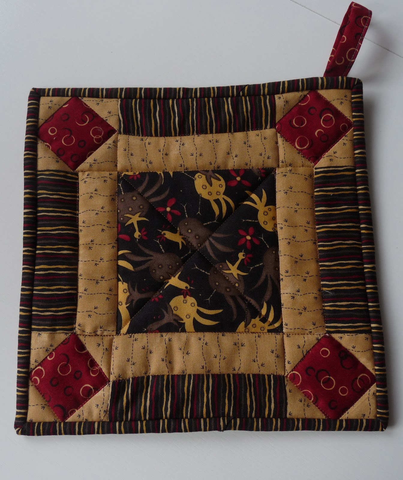 Quilt Guild Exchange Ideas : COUNTRY LOG CABIN: 50th ANNIVERSARY QUILT FINISHED