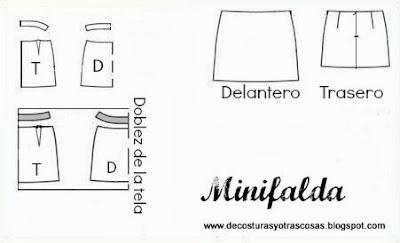 patrón-minifalda