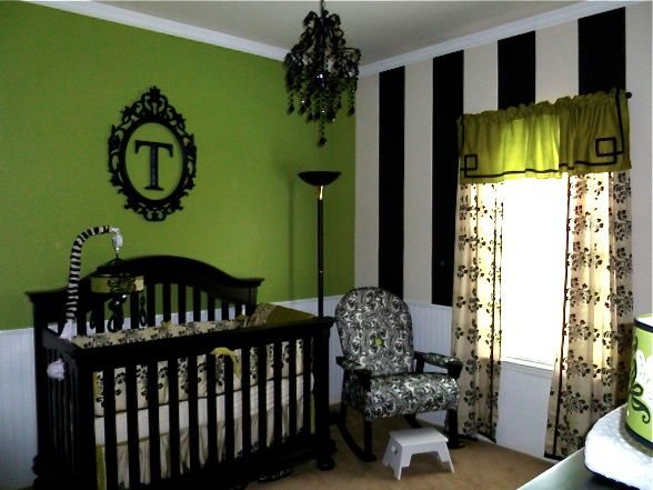 Impressive Baby Room Green and Black Bedroom 588 x 441 · 54 kB · jpeg