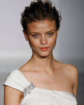 Swell Beauty Blog: Bridal Makeup from the Runway