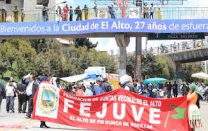 Organizaciones sociales de El Alto