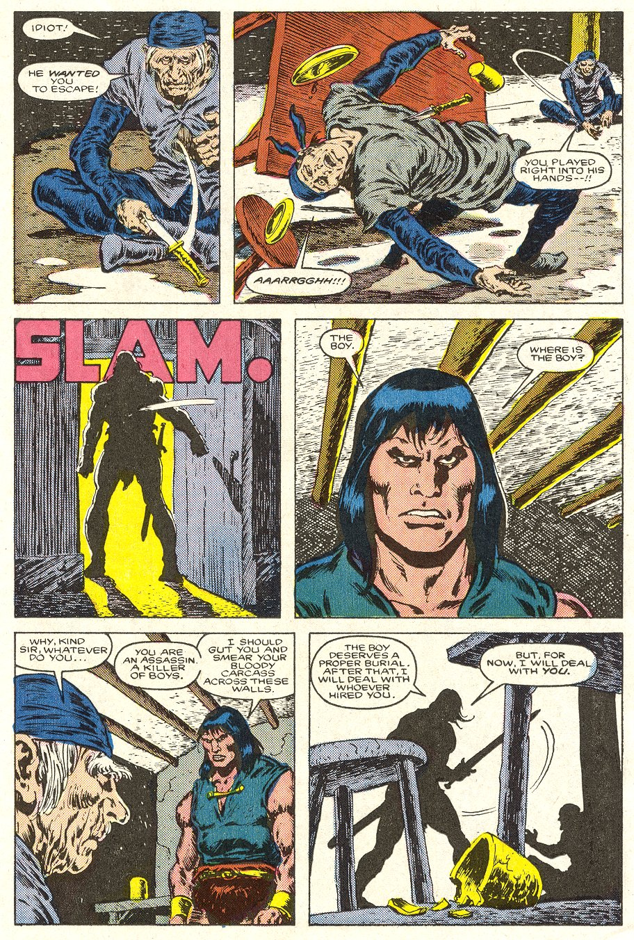Conan the Barbarian (1970) Issue #188 #200 - English 10