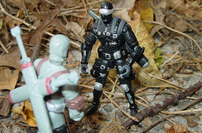 2002 Snake Eyes, Variant, JvC, Stormshadow, Neo Viper, Claws, BAT