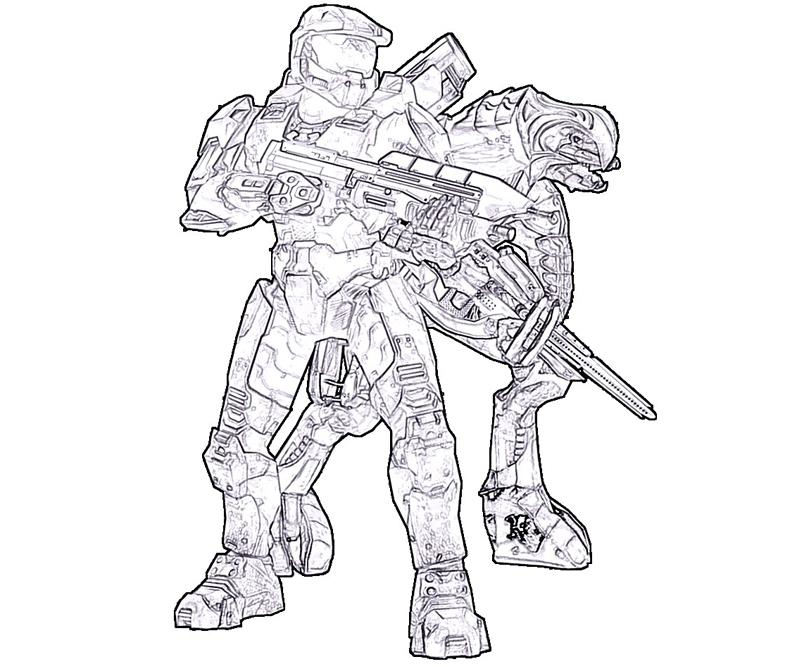 halo-4-rookie-armor-coloring-pages