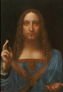 Salvator Mundi, por Leonardo da Vinci