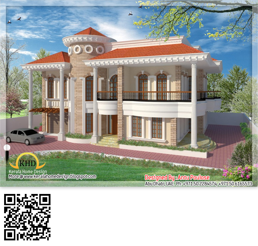 duplex house design   348