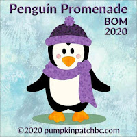 BOM Penguin/ Pumpkin Patch BC