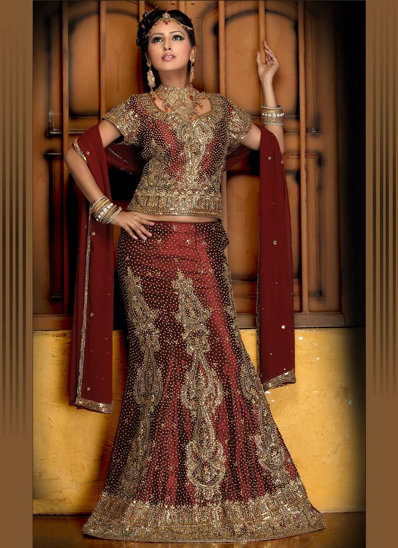 All about an indian bride indian bridal wear for Indian wedding dresses online india