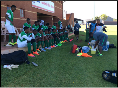 Super Eagles Team Back In Training In South Africa After Having A Day Off. Photos