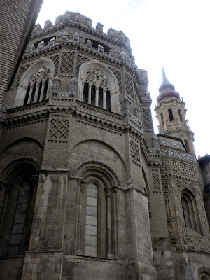 la Seo o Catedral del Salvador en Zaragoza