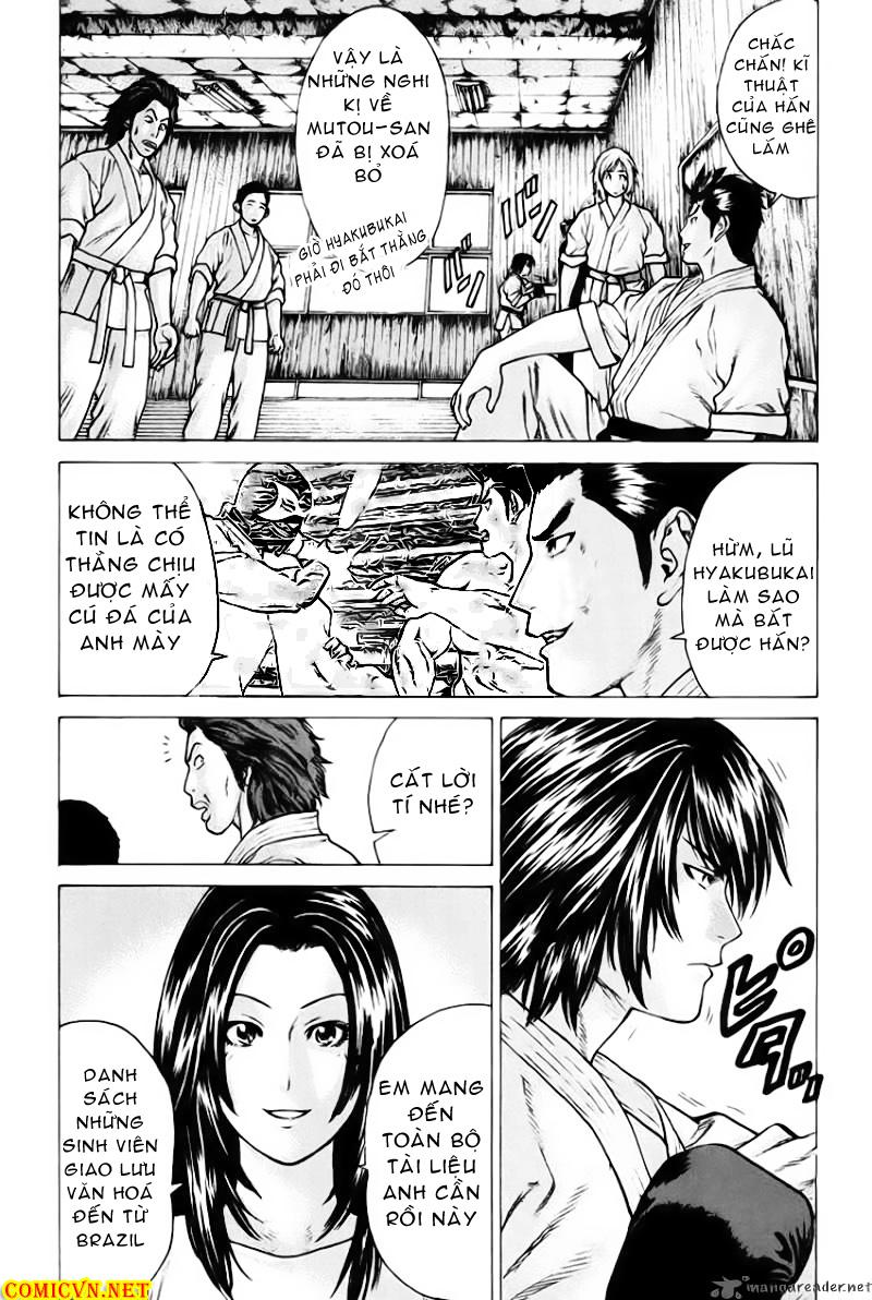 Karate Shoukoushi Kohinata Minoru chap 37 Trang 13