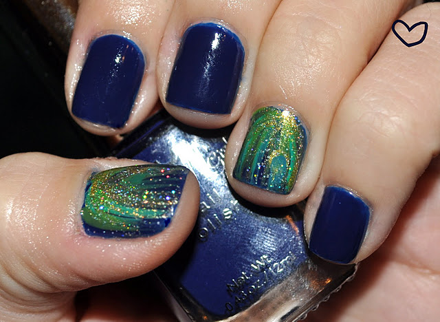 The Amazing Blue perfect nails 2015 Picture