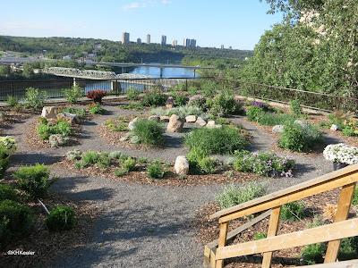 garden, Shaw Conference Centre, Edmonton, Alberta