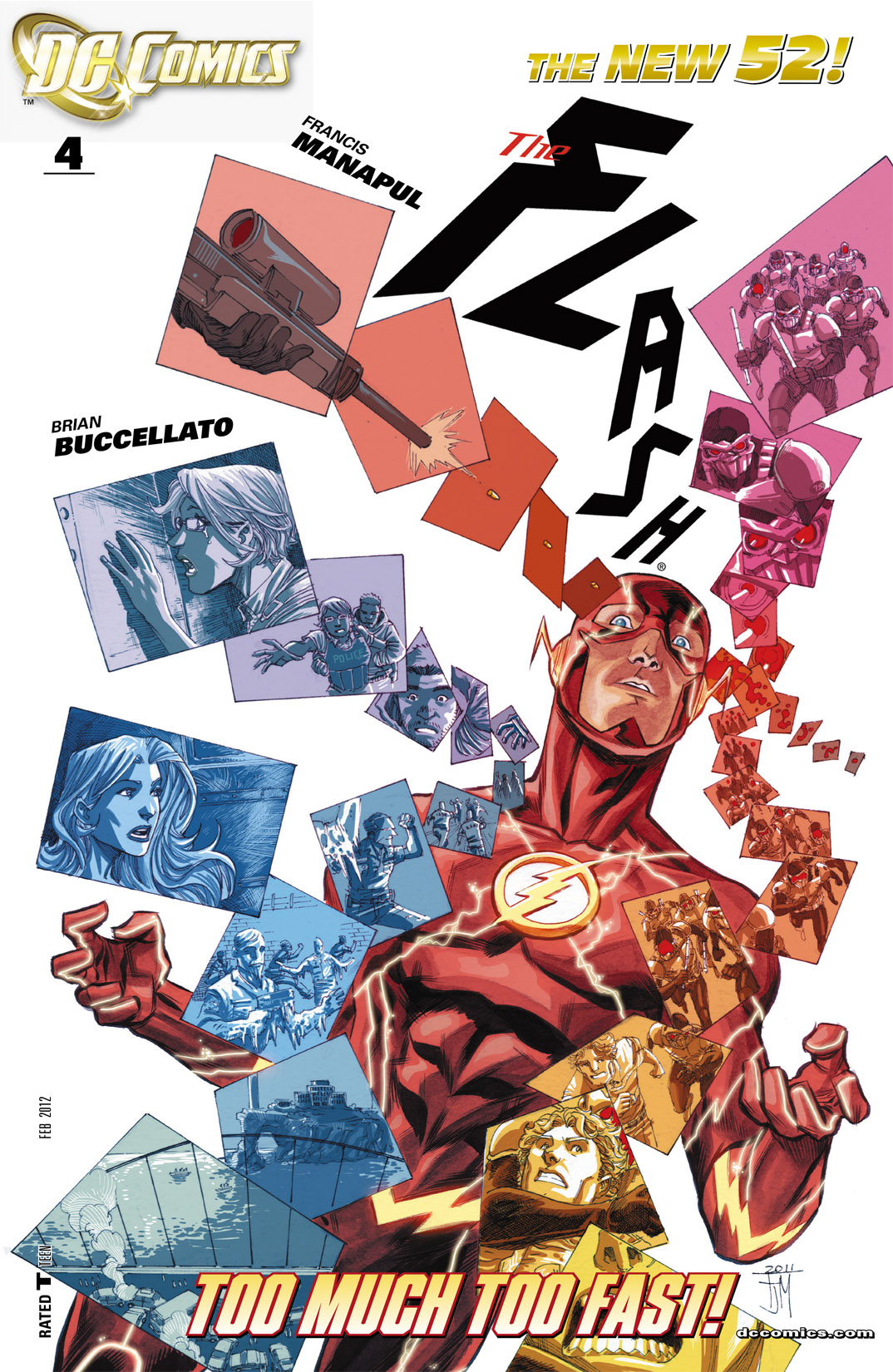 The Flash (2011) 4 Page 1