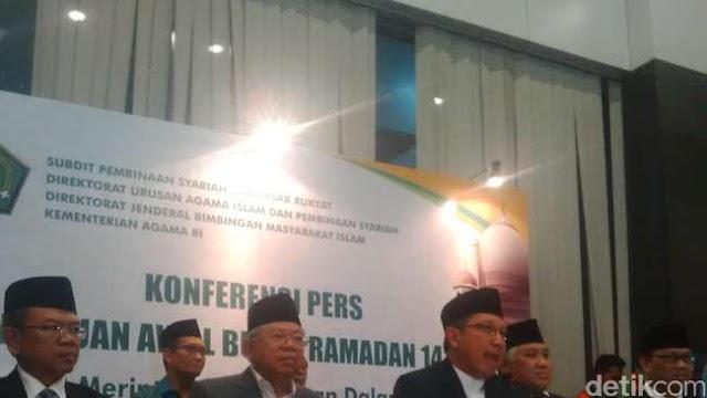 Pemerintah Tetapkan 1 Ramadan Jatuh Hari Kamis, 18 Juni 2015