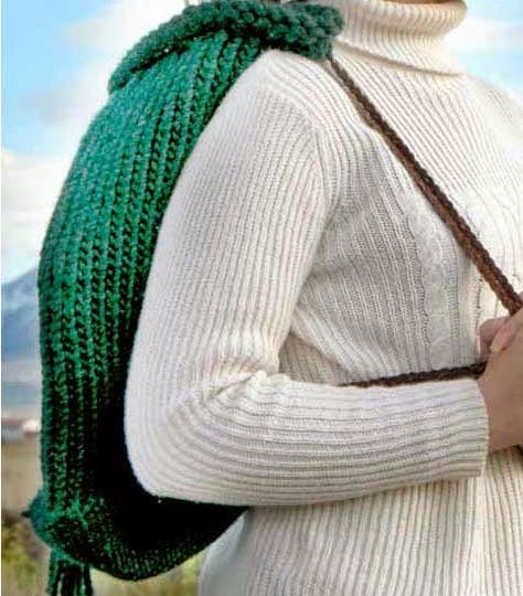 The Knifty Knitter Backpack